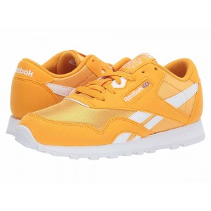 Reebok Kids Classic Nylon MU (Big Kid) Gold/White [Sale]