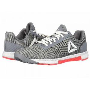 Reebok Speed TR Flexweave Cold Grey/White/Neon Red [Sale]