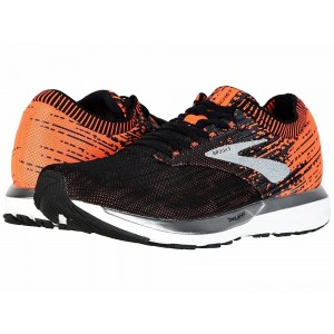 Brooks Ricochet Black/Orange/Ebony [Clearance Sale]