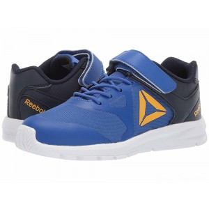 Reebok Kids Rush Runner A/C (Little Kid) Cobalt/Navy/Gold [Sale]