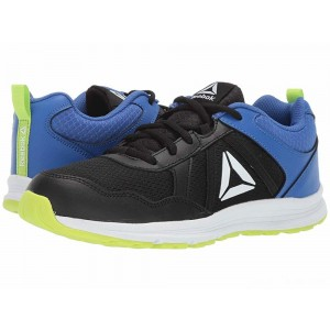Reebok Kids Almotio 4.0 (Little Kid/Big Kid) Black/Lime/Cobalt/White [Sale]