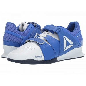 Reebok Legacy Lifter White/Crushed Cobalt/Collegiate Navy [Sale]