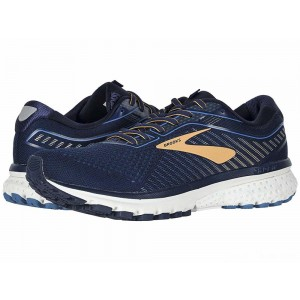 Brooks Ghost 12 Navy/Deep Water/Gold [Clearance Sale]