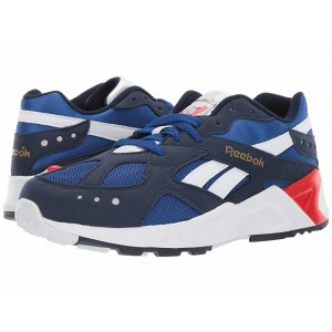 Reebok Kids Aztrek (Big Kid) Navy/Royal/White/Red/Grey [Sale]