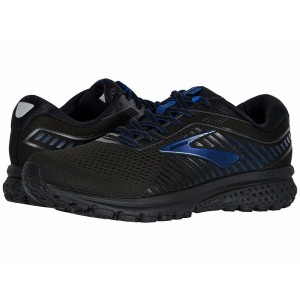 Brooks Ghost 12 GTX Black/Ebony/Blue [Clearance Sale]