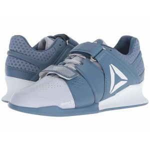 Reebok Legacy Lifter Cloud Grey/Blue Slate/White [Sale]
