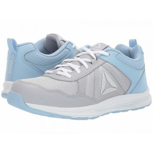 Reebok Kids Almotio 4.0 (Little Kid/Big Kid) Grey/Blue/White [Sale]