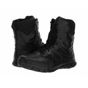 "Reebok Work Sublite Cushion Tactical 8"" Boot WP Black [Sale]"