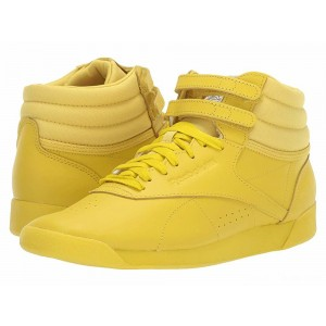 Reebok Lifestyle Freestyle Hi Icons Lemon Pepper/White/Lilac Fog [Sale]