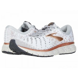 Brooks Glycerin 17 White/Copper/Grey [Clearance Sale]