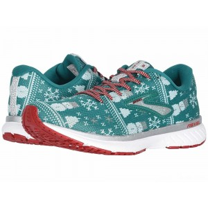 Brooks Revel 3 Green/Red/Metallic Silver [Clearance Sale]