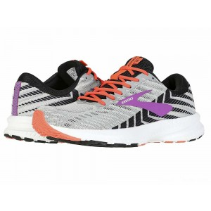 Brooks Launch 6 Grey/Black/Purple [Clearance Sale]