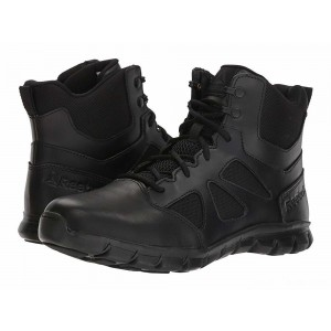 "Reebok Work Sublite Cushion Tactical 6"" Boot Black [Sale]"