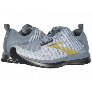 Brooks Bedlam 2 Grey/White/Gold [Clearance Sale]