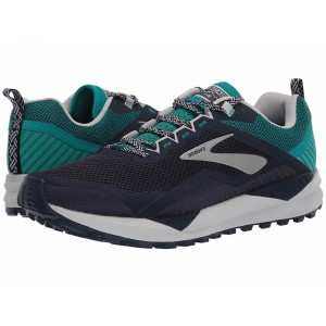 Brooks Cascadia 14 Navy/Blue Grass/Grey [Clearance Sale]