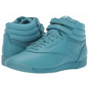 Reebok Lifestyle Freestyle Hi Icons Mineral Mist/White [Sale]