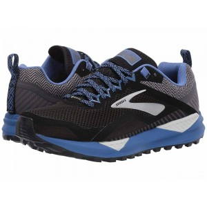 Brooks Cascadia 14 GTX Black/Grey/Blue [Clearance Sale]