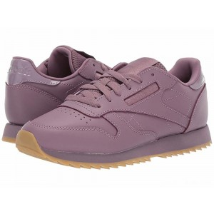 Reebok Lifestyle Classic Leather Ripple Mid Noble Orchid/Gum [Sale]