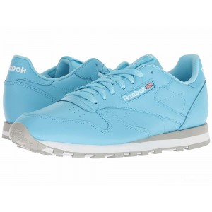 Reebok Lifestyle Classic Leather MU Digital Blue/White/Grey [Sale]