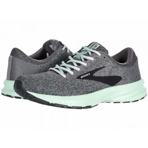 Brooks Launch 6 Shark/Aqua/Ebony [Clearance Sale]