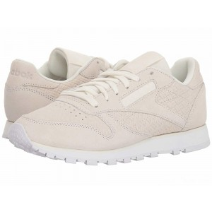 Reebok Lifestyle Classic Leather Woven Embossed Chalk/White [Sale]