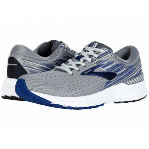 Brooks Adrenaline GTS 19 Grey/Blue/Ebony [Clearance Sale]