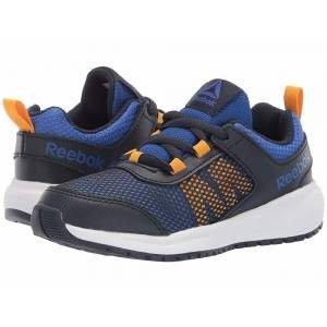 Reebok Kids Road Supreme (Little Kid/Big Kid) Navy/Cobalt/Gold [Sale]