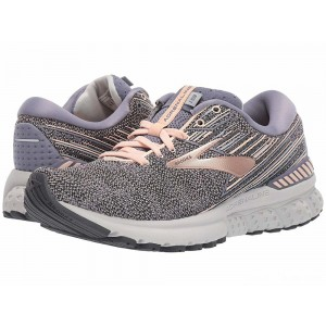 Brooks Adrenaline GTS 19 Grey/PalePeach/Grey [Clearance Sale]