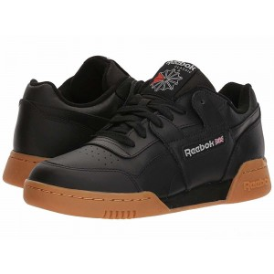Reebok Lifestyle Workout Plus Black/Carbon/Classic Red/Reebok Royal/Gum [Sale]