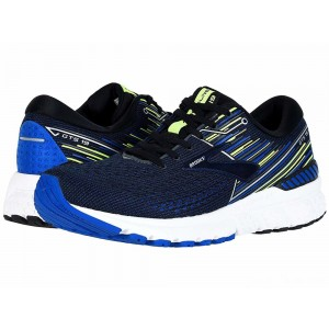 Brooks Adrenaline GTS 19 Black/Blue/Nightlife [Clearance Sale]