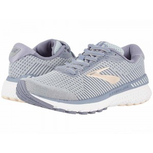 Brooks Adrenaline GTS 20 Grey/Pale Peach/White [Clearance Sale]