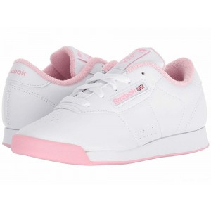 Reebok Kids Princess (Little Kid) White/Light Pink [Sale]