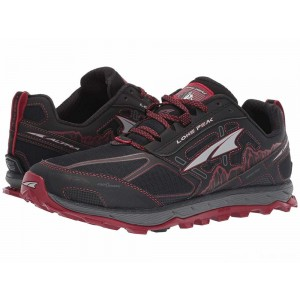 Altra Footwear Lone Peak 4 Black/Red [Sale]