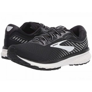 Brooks Ghost 12 Black/Ebony/White [Clearance Sale]