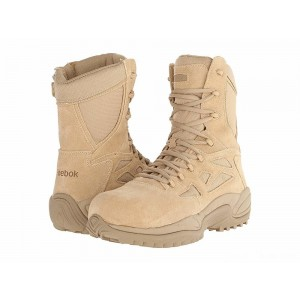 "Reebok Work Rapid Response RB 8"" CT Tan [Sale]"