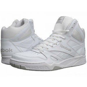 Reebok Royal BB4500 Hi White/Steel [Sale]