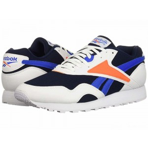 Reebok Lifestyle Rapide MU White/Collegiate Navy/Vital Blue/Bright Lava [Sale]