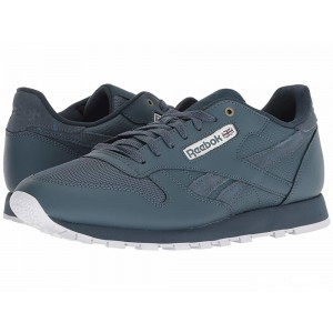 Reebok Lifestyle Classic Leather MU Deep Sea/Mt Fuji/White [Sale]