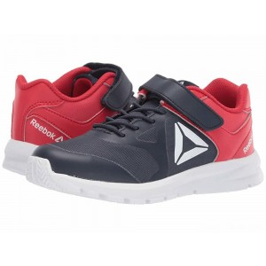 Reebok Kids Rush Runner A/C (Little Kid) Navy/Red [Sale]