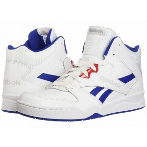 Reebok Lifestyle Royal BB4500 Hi 2 White/Collegiate Royal/Primal Red/Light Grey Heather Solid Grey [Sale]