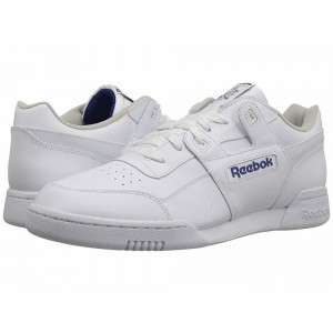 Reebok Lifestyle Workout Plus White/Royal [Sale]