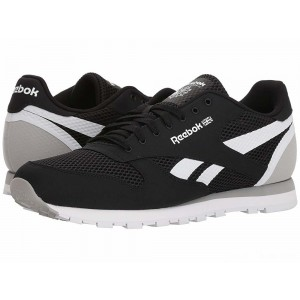 Reebok Lifestyle Classic Leather MVS Black/Stark Grey/White [Sale]
