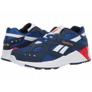 Reebok Lifestyle Aztrek Collegiate Navy/Royal/White/Primal Red/Grey/Gold [Sale]