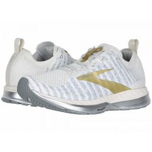 Brooks Bedlam 2 White/Grey/Gold [Clearance Sale]