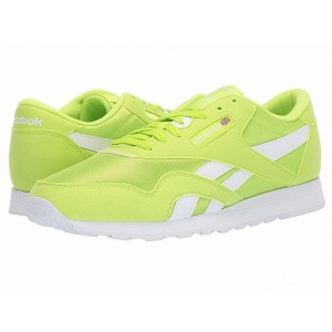 Reebok Lifestyle Classic Nylon Color Neon Lime/White [Sale]