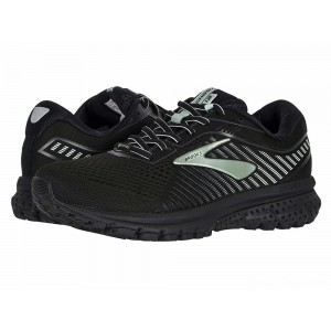 Brooks Ghost 12 GTX Black/Ebony/Aqua [Clearance Sale]