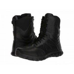 "Reebok Work Sublite Cushion Tactical 8"" Boot Black [Sale]"