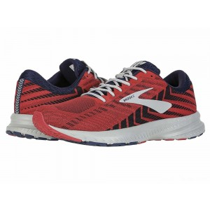 Brooks Launch 6 Cherry/Navy/Grey [Clearance Sale]