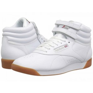 Reebok Lifestyle Freestyle Hi White/Gum [Sale]