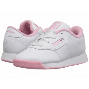 Reebok Kids Princess (Toddler) White/Light Pink [Sale]